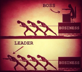 Photo of The 11 crucial differences between a boss and a leader