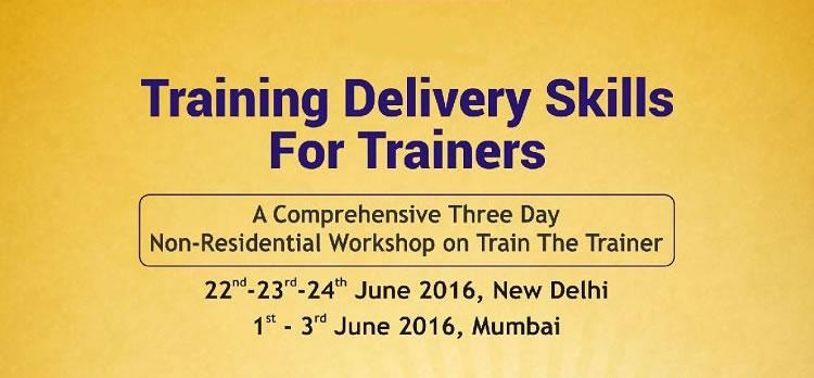 NHRDN Training Delivery Skills for Trainer