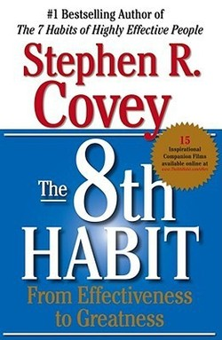 Photo of THE 8TH HABIT: FROM EFFECTIVENESS TO GREATNESS