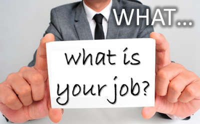 Photo of What should your job really be ?