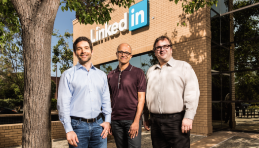 Photo of LinkedIn + Microsoft: Changing the Way the World Works