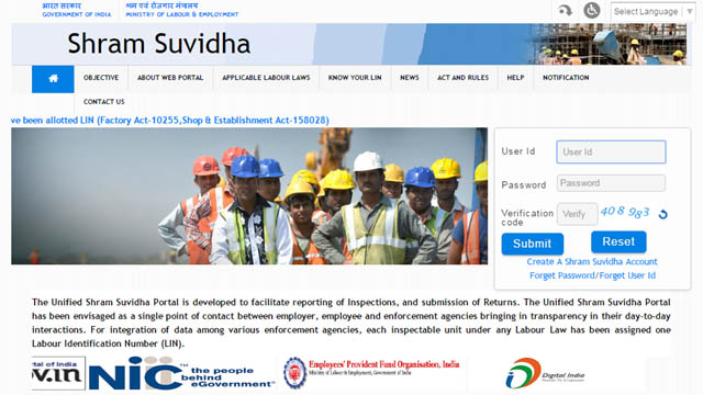 Photo of Unified Shram Suvidha Portal a One-Stop-Shop for Labour Law Compliance
