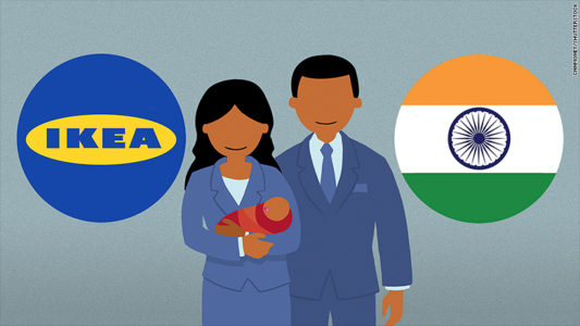 Photo of Ikea gives India employees six months paid parental leave