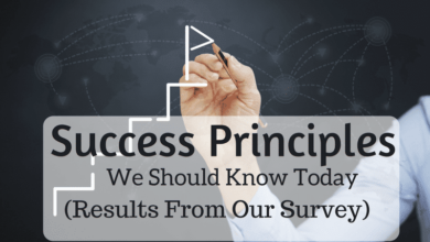 Photo of Success Principles for anyone looking to Improve