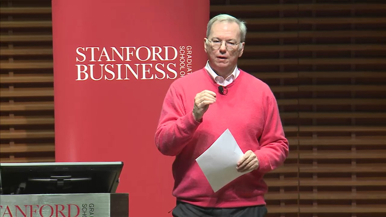 "Photo of Eric Schmidt, Executive Chairman, Alphabet Inc.: Just Say ""Yes"""