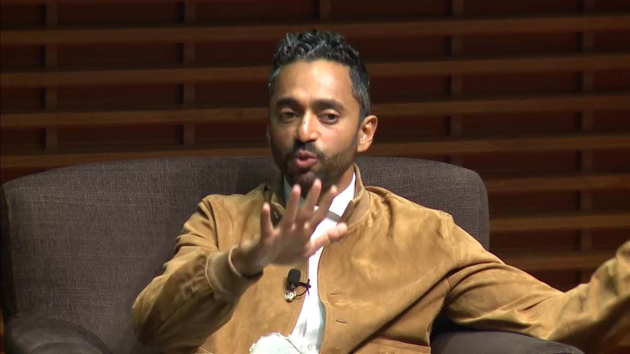 Photo of Chamath Palihapitiya, Founder and CEO Social Capital, on Money as an Instrument of Change