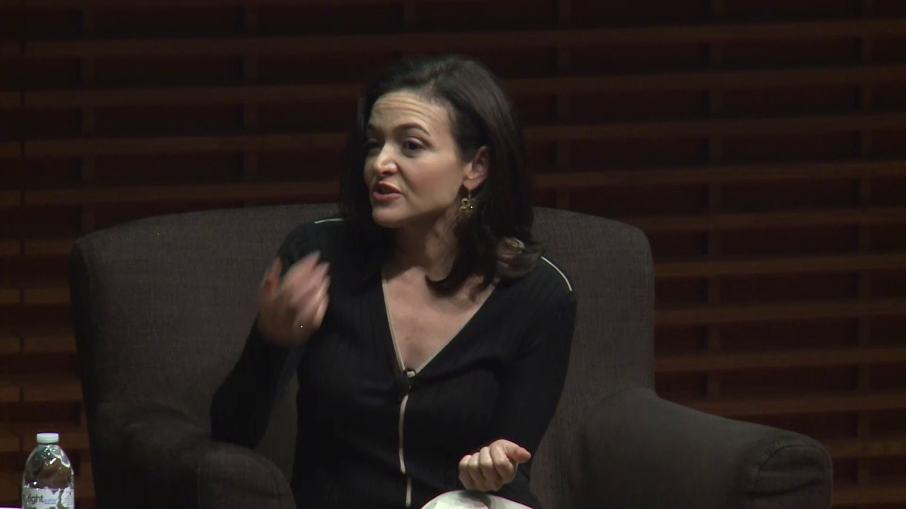 Photo of Sheryl Sandberg, COO of Facebook, on Using Your Voice For Good