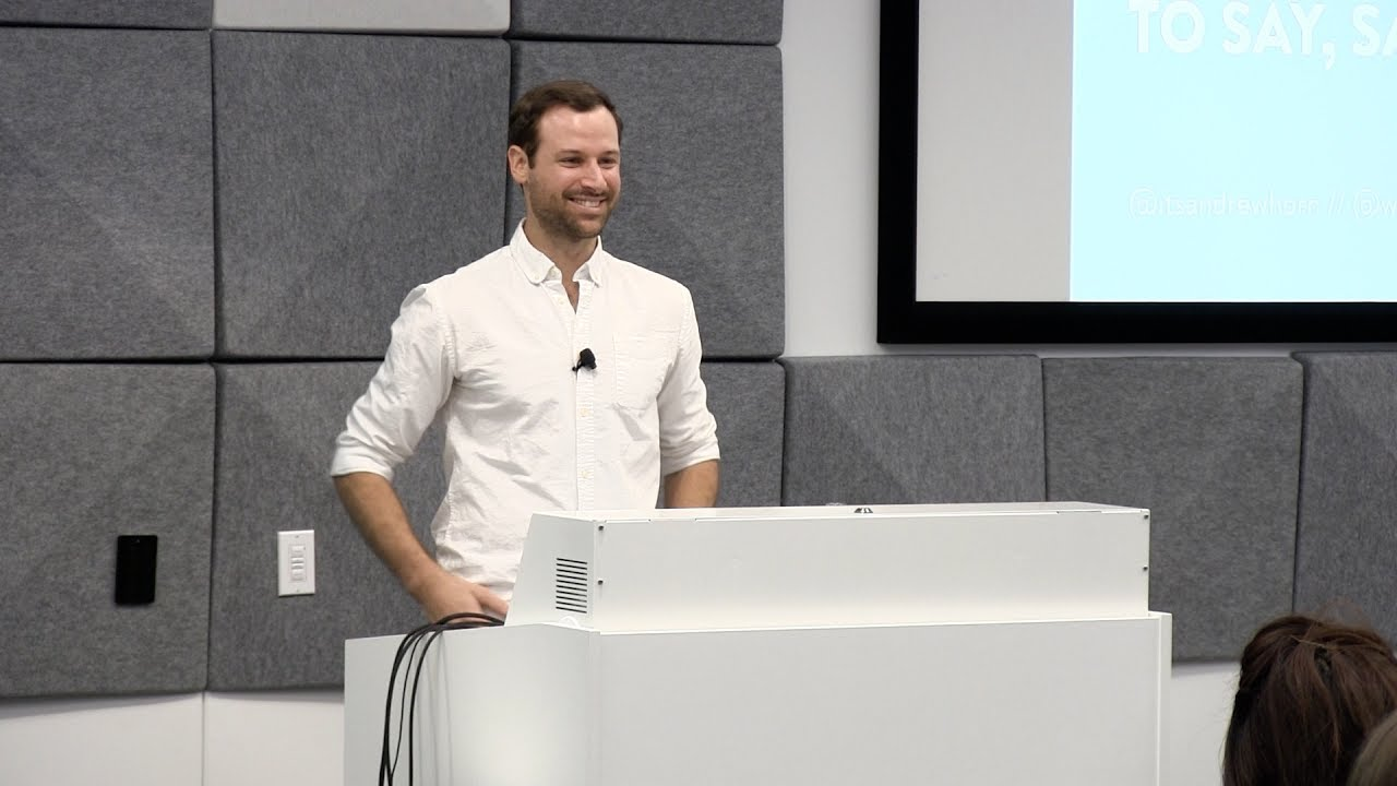 "Photo of Andrew Horn: ""The Art of Meaningful Conversation"" 
