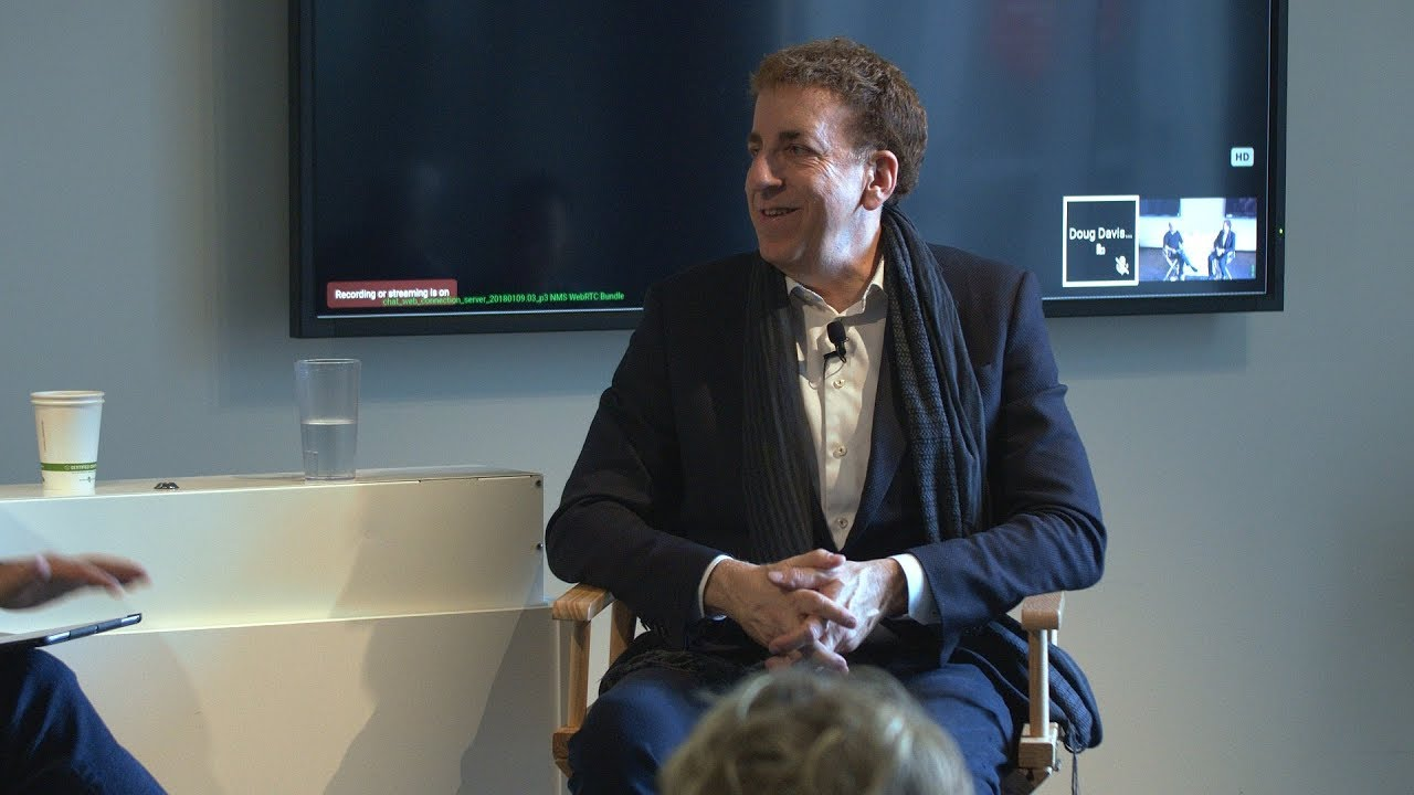 """Photo of Dean Ornish: """"Transforming Lives and Healthcare"""" 