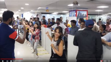 Photo of 2018 New Year celebrations at Dell Bangalore