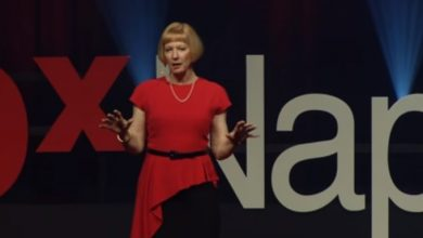 Photo of Reading minds through body language   Lynne Franklin   TEDxNaperville