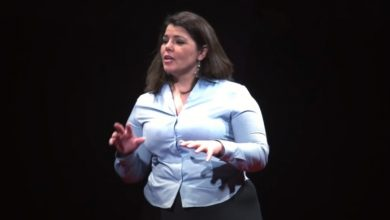 Photo of Don't find a job, find a mission | Celeste Headlee | TEDxAugusta