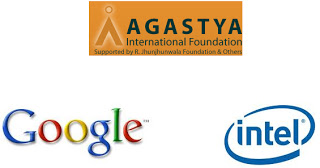 Photo of Innovation at Google, Intel, and Agastya Foundation.. and talk by Henry Mintzberg