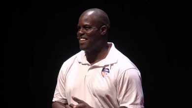 Photo of If you want to achieve your goals, don't focus on them: Reggie Rivers at TEDxCrestmoorParkED