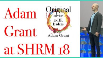Photo of Adam Grant at SHRM18 in Chicago
