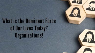 Photo of What is the Dominant Force of Our Lives Today? Organizations! (Why, What, and How)