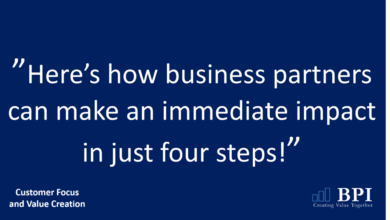 Photo of 4 Steps For Business Partners To Make An Immediate Impact
