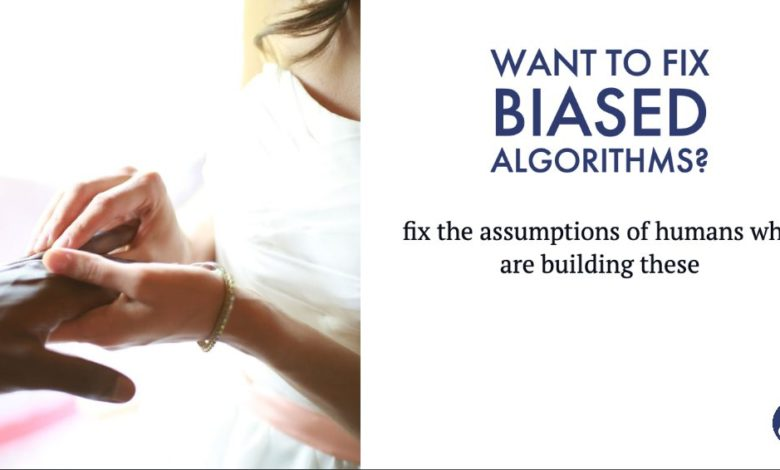 Before fixing bias in AI, let us fix our own