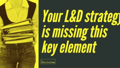 Photo of Your L&D strategy is missing one key element