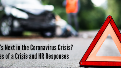 Photo of What's Next in the Coronavirus Crisis? Phases of a Crisis and HR Responses
