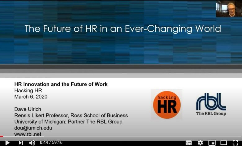 Future of Work HR Innovation