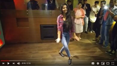 First Dance performance in Office