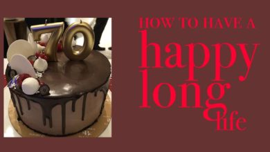 "Photo of How to have a ""Happy Long Life"""