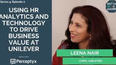 Photo of Using HR Analytics and Technology to Drive Business Value at Unilever (Interview with Leena Nair, CHRO at Unilever)