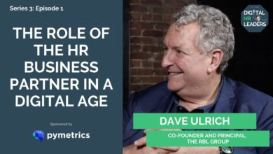 Photo of Dave Ulrich on the role of HR in the Digital Age