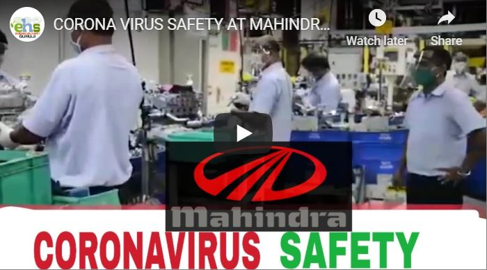 Mahindra Good Manufacturing Practices COVID19