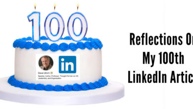 Photo of Reflections for My 100th LinkedIn Article