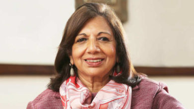 Photo of Kiran Mazumdar-Shaw named EY World Entrepreneur Of The Year 2020, Biocon boss says she won it for her colleagues