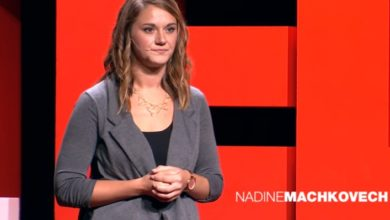 Photo of The Secret to Being Enough | Nadine Machkovech | TEDxFondduLac
