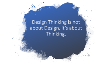 Photo of Design Thinking is not about Design, it's about Thinking