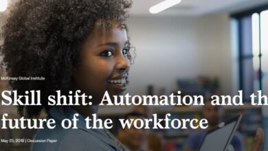 Photo of Skill shift: Automation and the future of the workforce