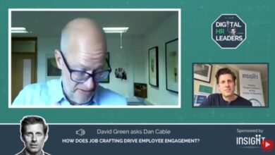 Photo of HOW DOES JOB CRAFTING DRIVE EMPLOYEE ENGAGEMENT? Interview with Dan Cable