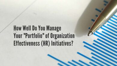 "Photo of How Well Do You Manage Your ""Portfolio"" of Organization Effectiveness (HR) Initiatives?"