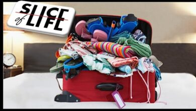 Photo of Slice of Life # Packing Mother's suitcase