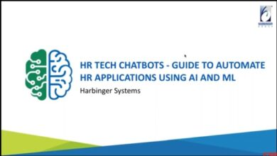 Photo of HR TECH CHATBOTS – GUIDE TO AUTOMATE HR APPLICATIONS USING AI AND ML