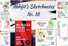 Photo of Sketchnotes No 16: Talent, mentors & 'No Rules Rules'