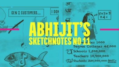 Photo of Abhijit's Sketchnotes No 11