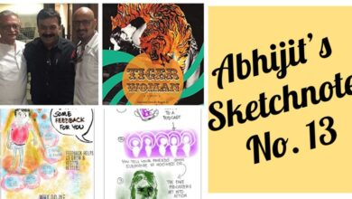 Photo of Abhijit's Sketchnotes No 13