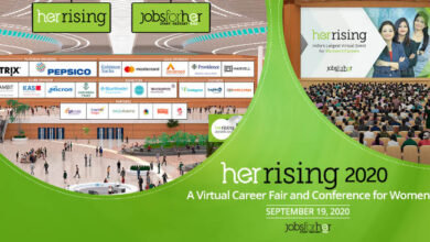 Photo of 3000+ Women Professionals. 50+ Companies. One Mega Virtual Career Event