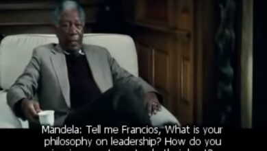 Photo of Powerful Learning from This Scene in Invictus: What is Your Philosophy on Leadership?