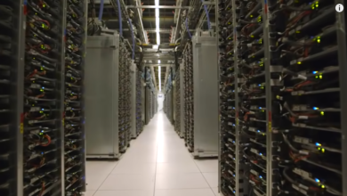 Photo of Inside a Google data center